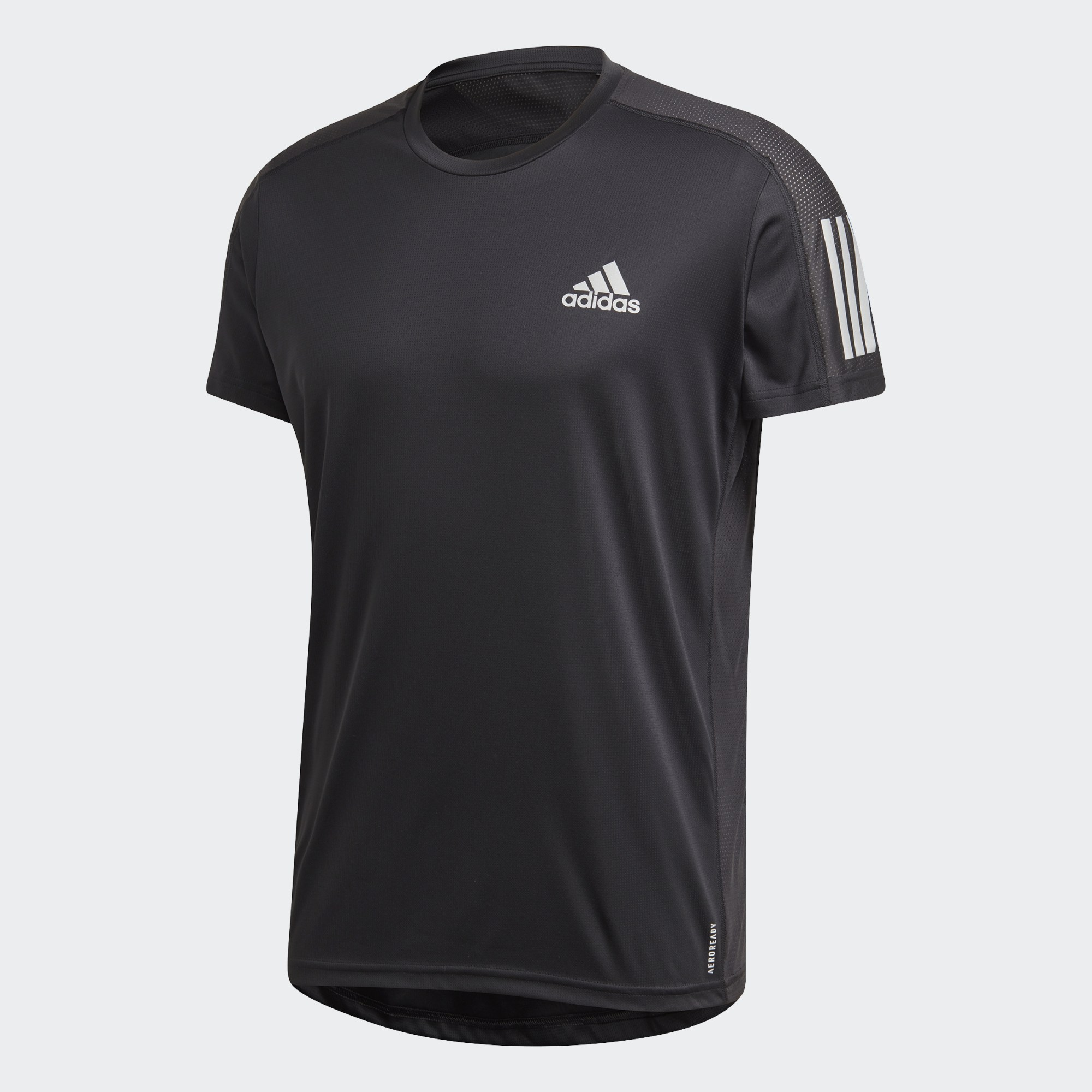 Own The Run tee – black
